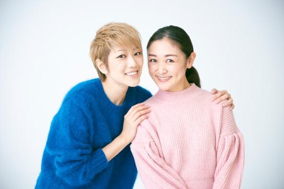 七海ひろきさんのもとに元タカラジェンヌのVOCEST!美夢ひまりがインタビュー