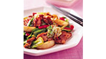 鶏とキャベツの回鍋肉