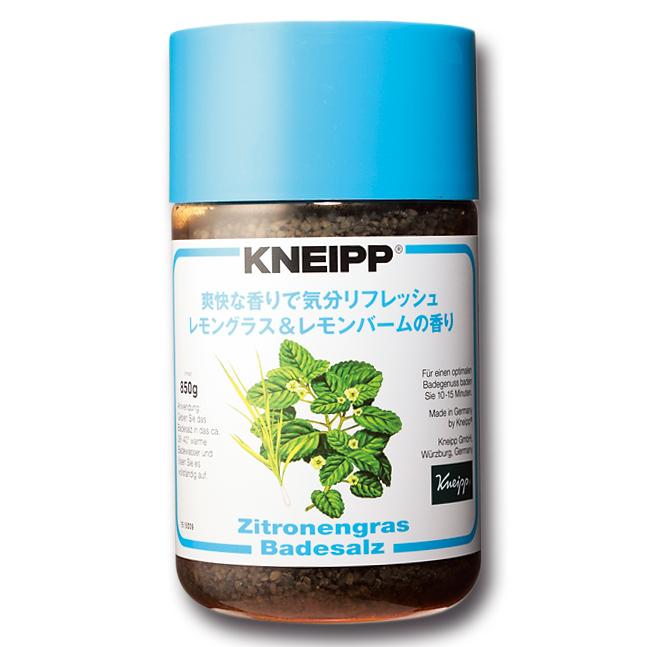 KNEIPP,クナイプ,バスソルト レモングラス&レモンバームの香り
