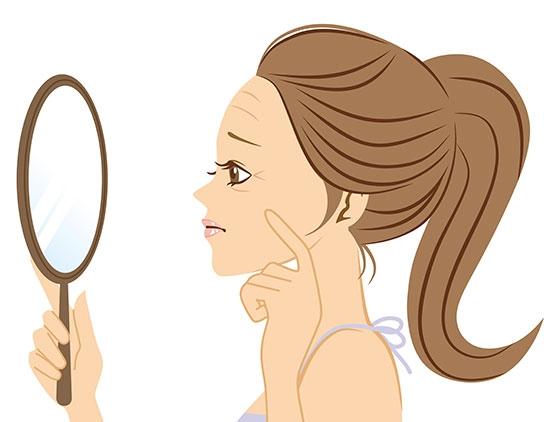 顔のパーツ別・気になる「小じわ」の原因と効果的にケアする方法
