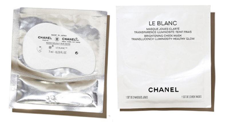 Chanel Le Blanc Cheek Mask