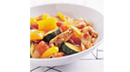 豚肉と野菜のさっと煮