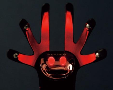 赤色LED/アデランス ヘアリプロ スカルプ LED EX
