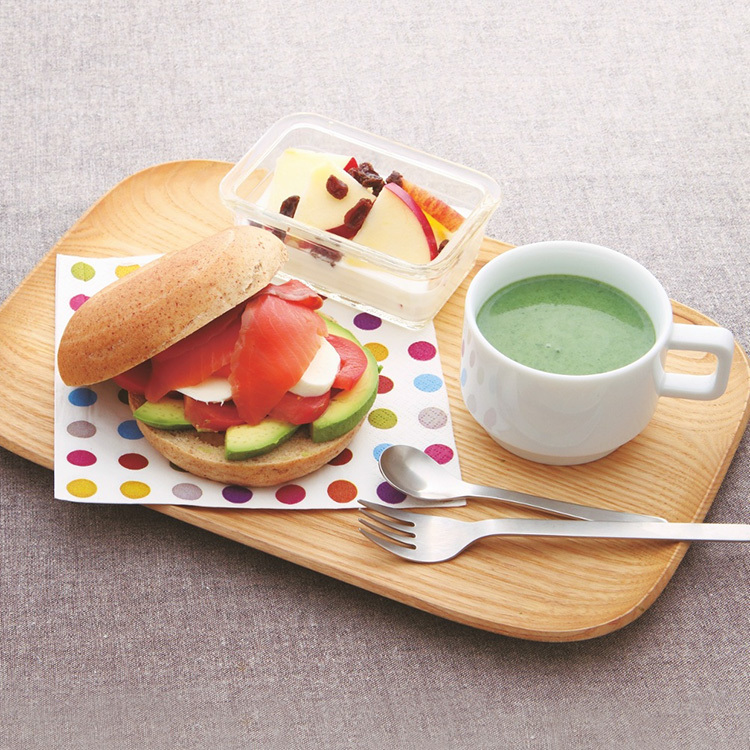 野菜たっぷりカフェプレート,VOCE2月号