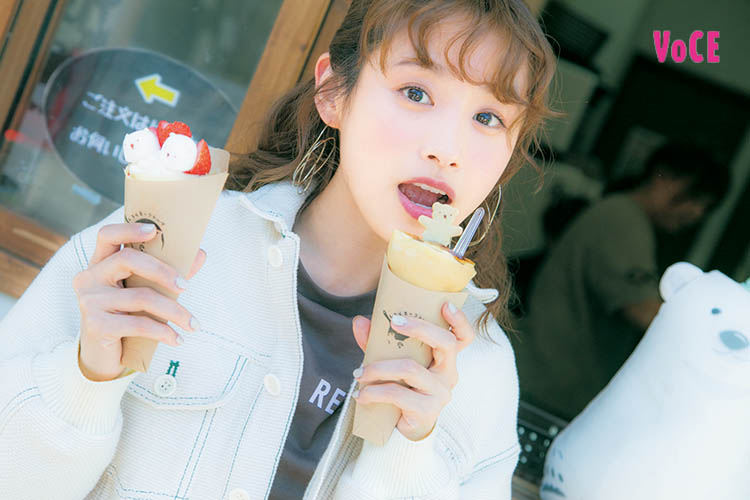 VOCE2018年10月号 高橋愛