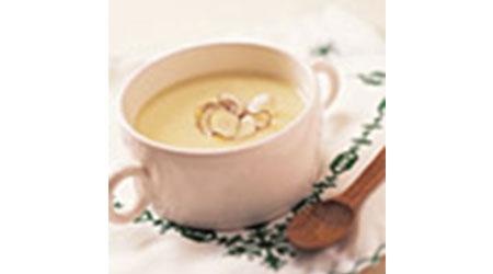 小松菜豆乳茶碗蒸し