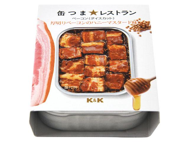 厚切りベーコンのハニーマスタード味,缶詰おつまみ