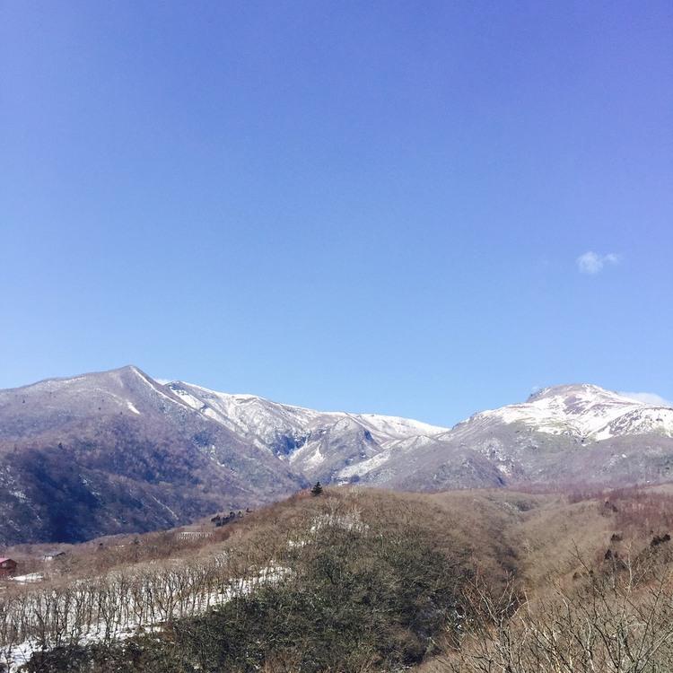 那須の山々