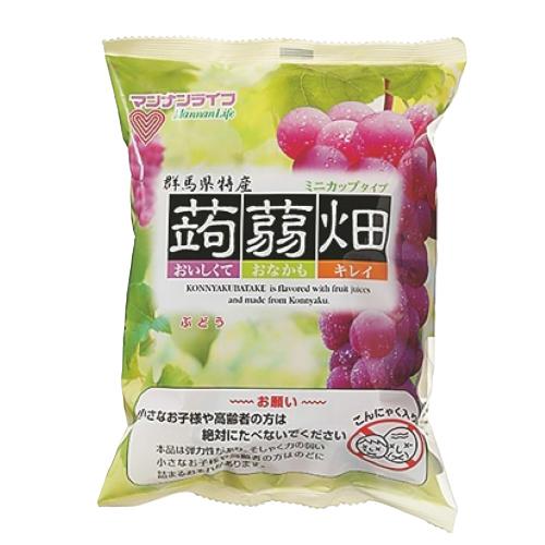 マンナンライフ 蒟蒻畑 ぶどう味