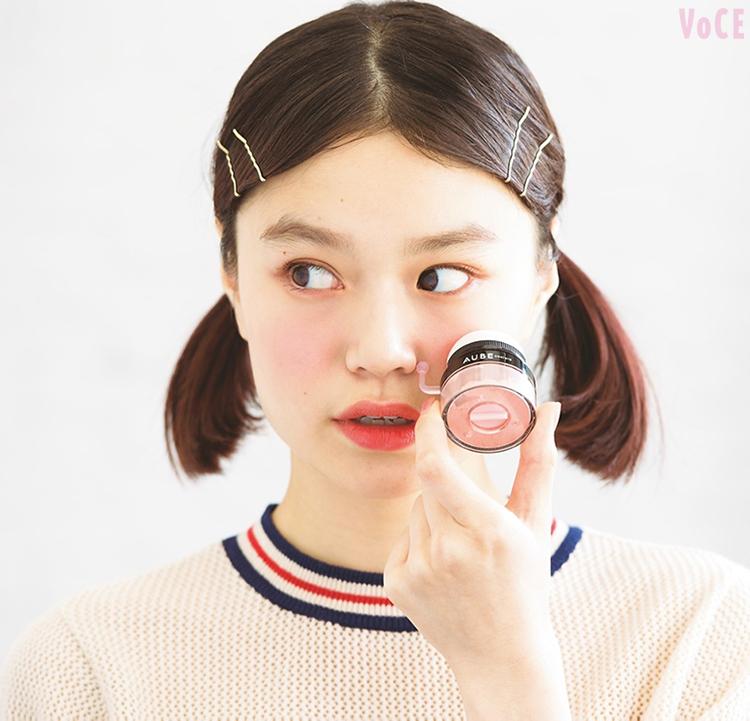 VOCE3月号,野崎智子,オーブ クチュール ぽんぽんチーク