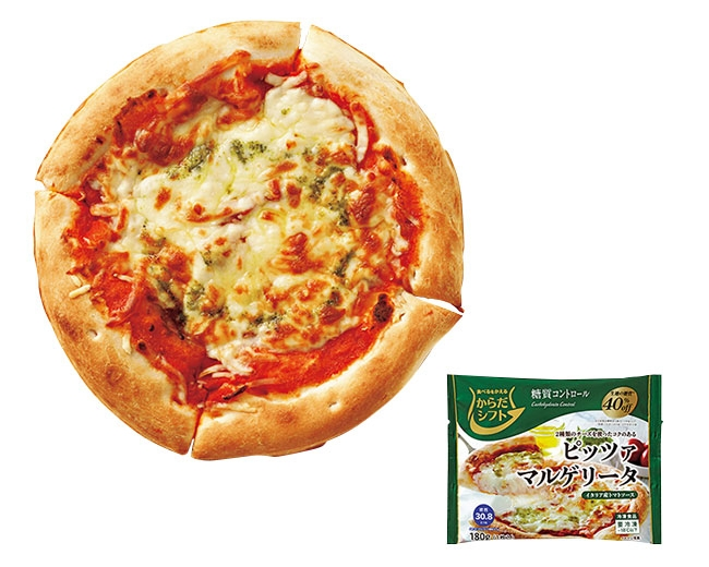 三菱食品 からだシフト 糖質コントロール ピッツァマルゲリータ