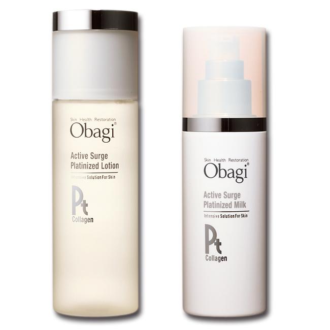 Obagi,オバジ,アクティブサージ プラチナイズドローション,アクティブサージ プラチナイズドミルク