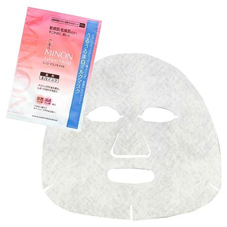 ミノンアミノモイスト うるうる美白ミルクマスク