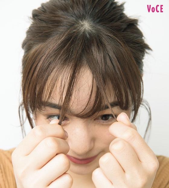 VOCE 2月号モデル/松原菜摘