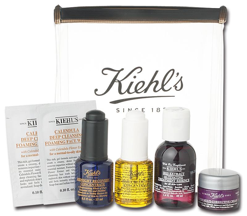 Kiehl's,キールズ,24時間美肌オイル スタートセット