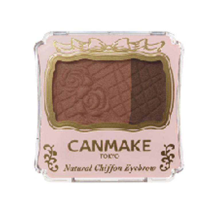 CANMAKE,キャンメイク,ナチュラルシフォンアイブロウ