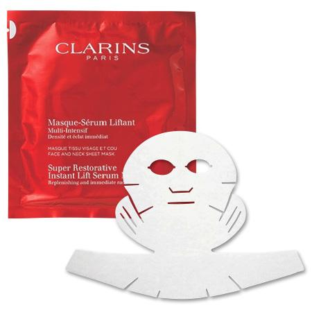 クラランス スープラ シートマスク