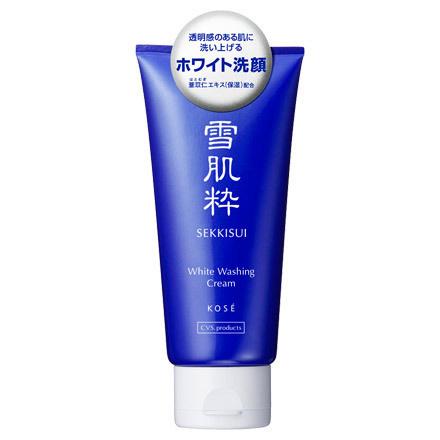 雪肌粋-ホワイト洗顔クリーム