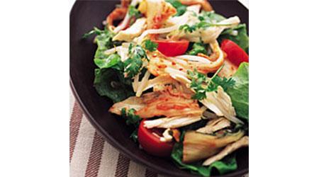 キムチと包菜のサラダ