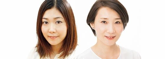 丸岡彩子さん、穴沢玲子さん