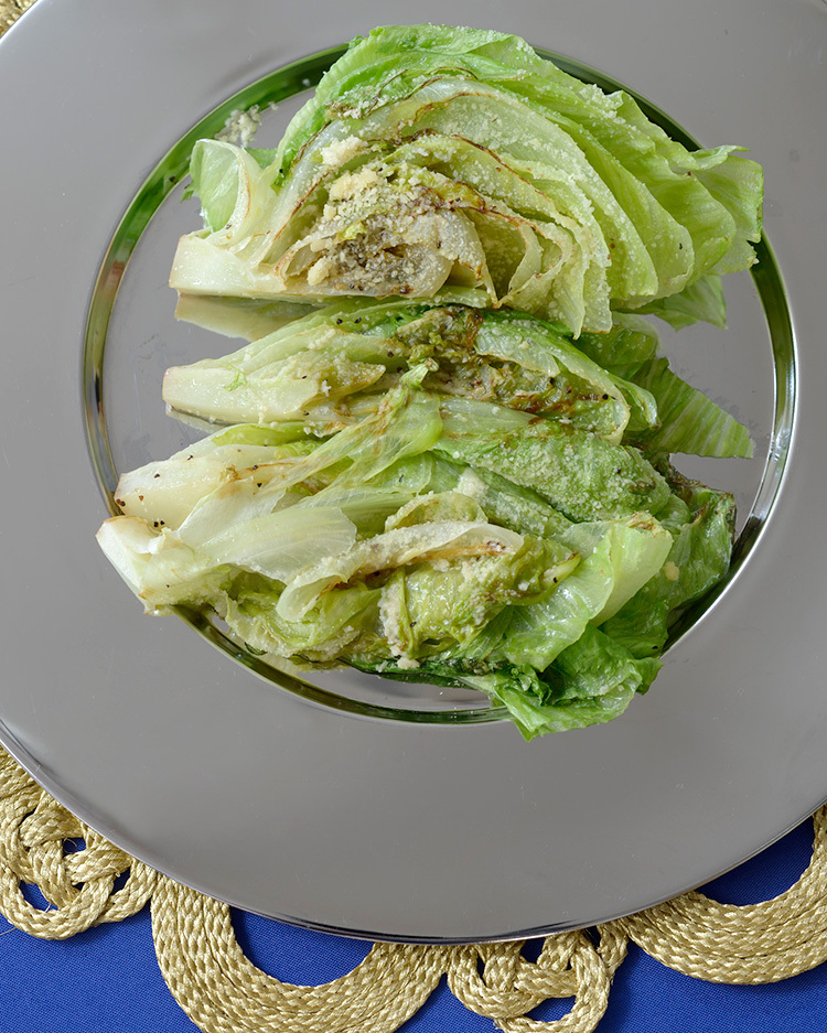 温製レタスサラダ ひでこ・コルトン