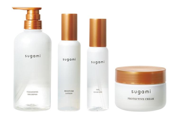 sugami クレンジング シャンプー、化粧水 ヘアミスト、美容液 ヘアオイル、保護 ヘアクリーム