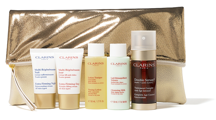 CLARINS,クラランス,ダブル セーラム コフレ
