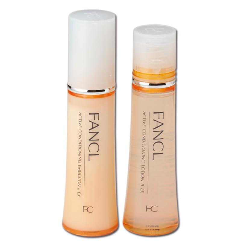 ファンケル,無添加アクティブコンディショニングEX化粧液,無添加アクティブコンディショニングEX乳液