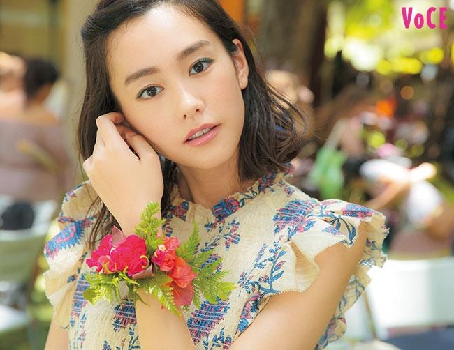 VOCE2019年10月号 桐谷美玲